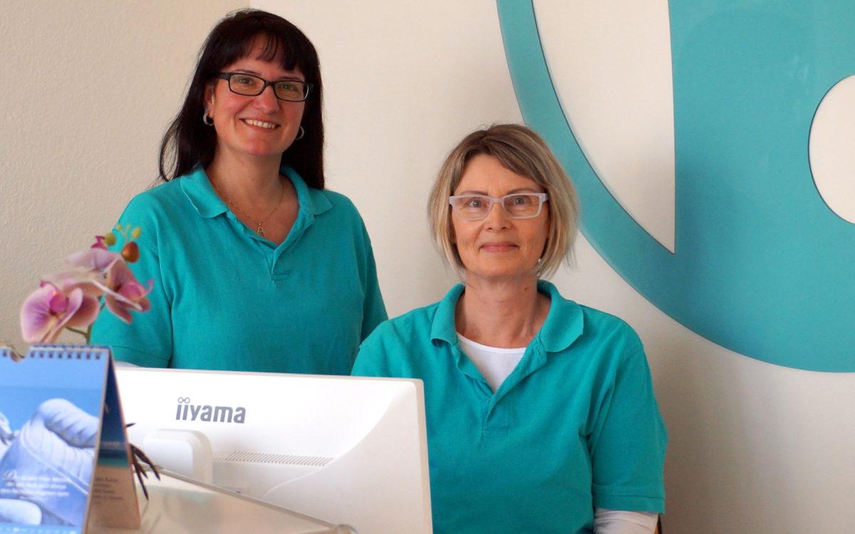 Katrin Meißner und Darina Gutsche